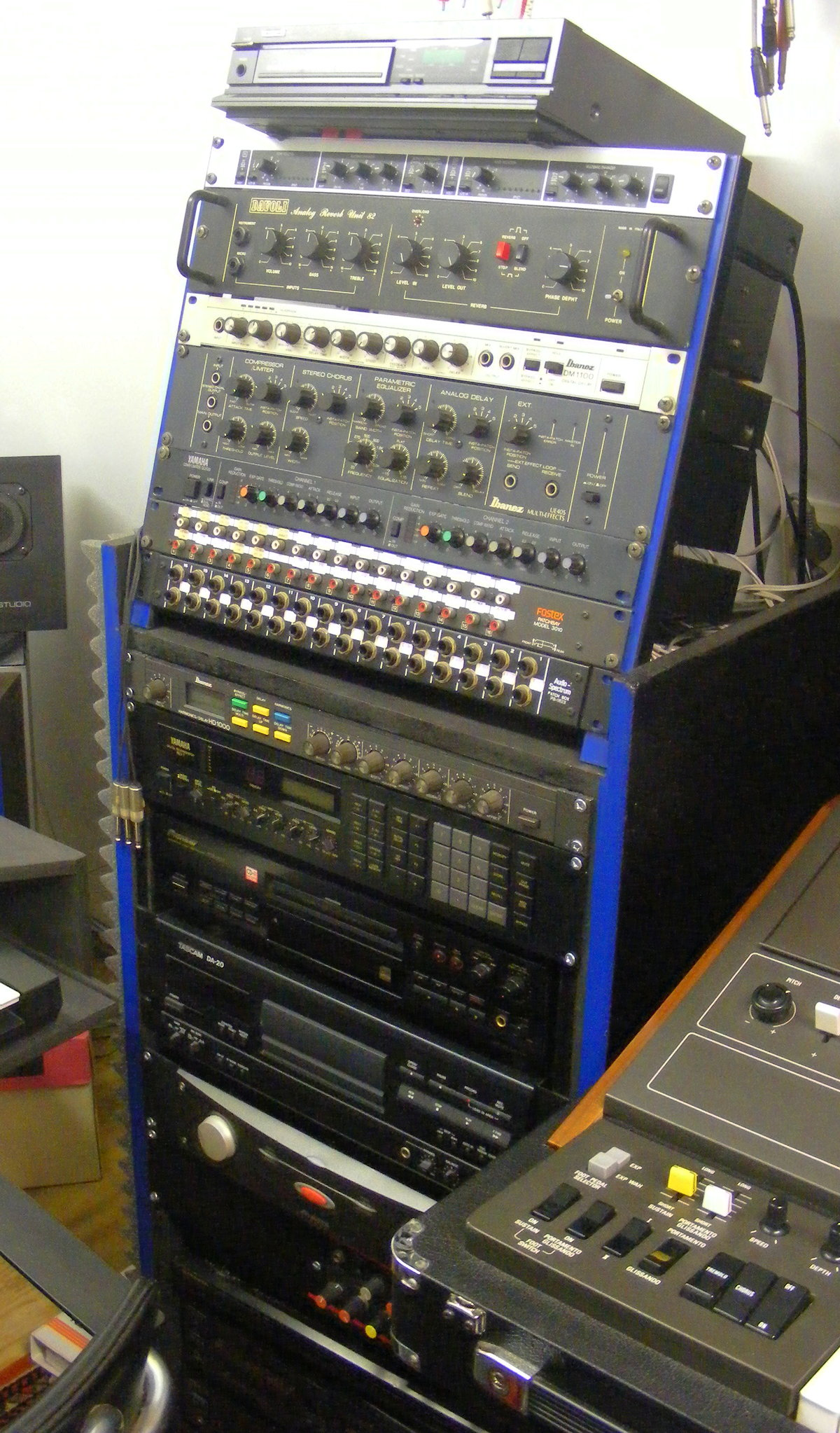 Effects rack
