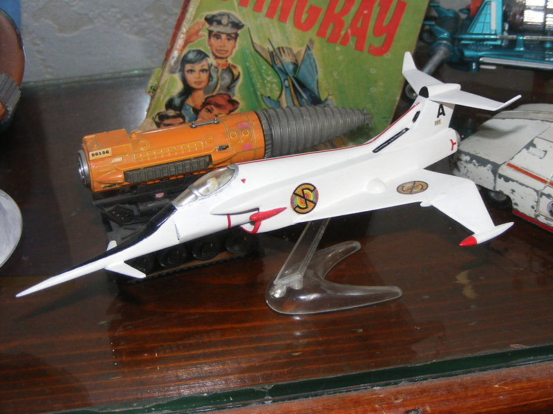 Airfix Angel Interceptor restored